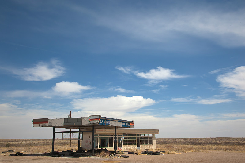 Abandoned Gas Station - Route 66