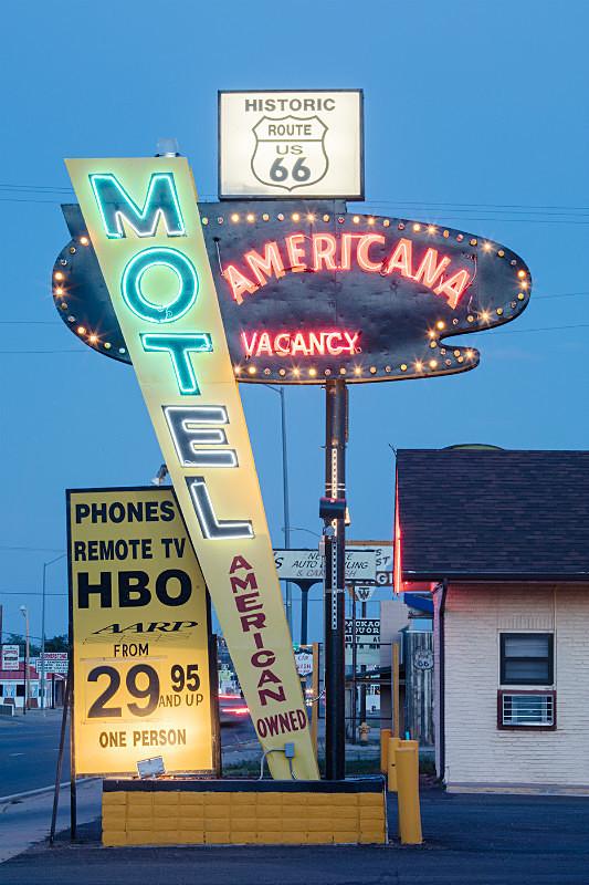 Motel Americana, Tucumcari - Route 66