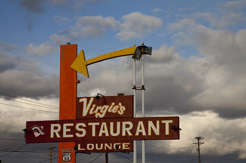 Virgies Restaurant Gallup NM - Route 66