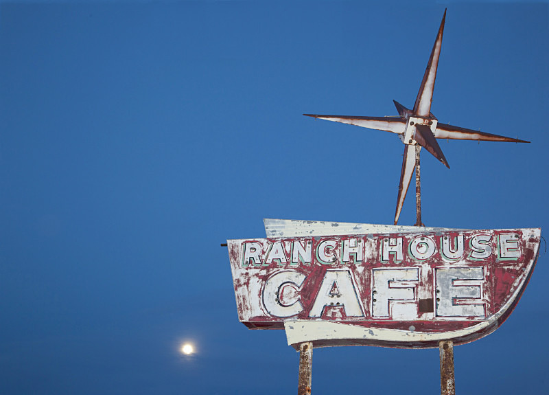 Ranch House Cafe, Vaughn. - Route 66