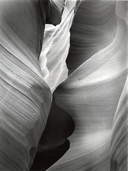Slot Canyon. - Monochrome Landscape America