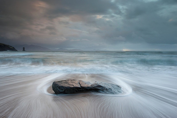 Receding Tide, beach at Dingle. - Coastal Britain