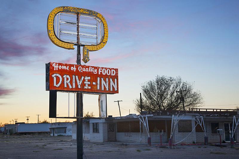 Drive Inn , Tucumcari. - Route 66