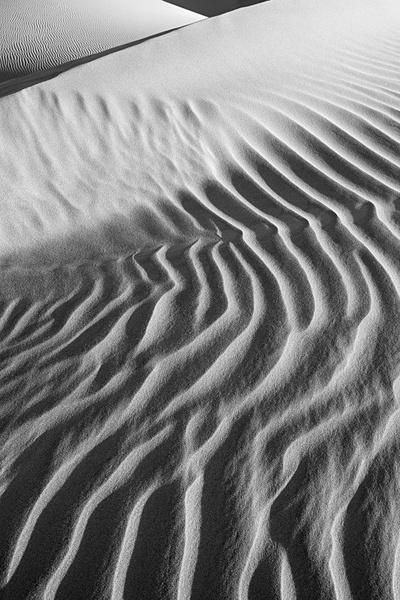 Death Vallet, detail 4. - Monochrome Landscape America