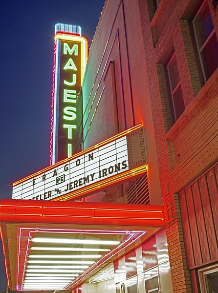 Majestic, Eastland, Texas. - American Icons