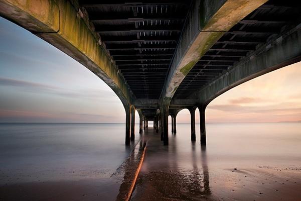 Underneath Boscombe Pier. - Coastal Britain