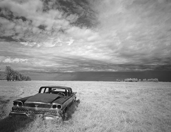 Abandoned Cadillac , Berwick,  North Dakota - Abandoned America