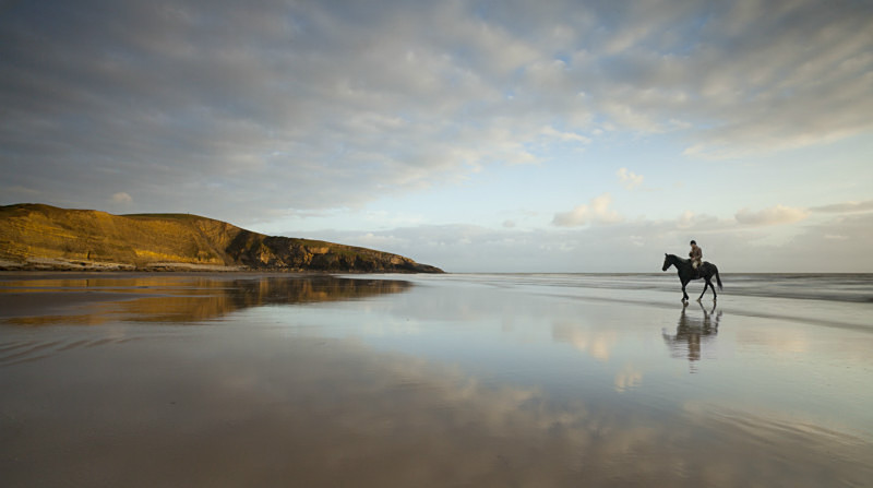 Dunraven Beach, South Wales - Coastal Britain