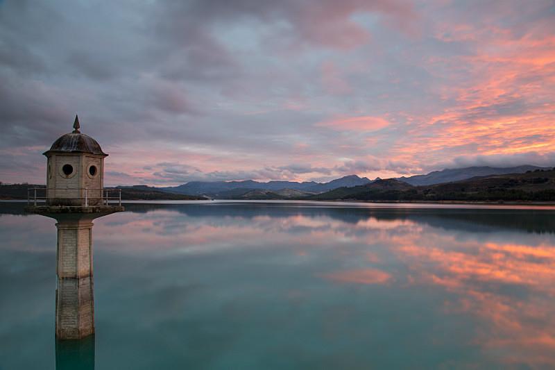 Reservoir, Andalusia. - European Landscape