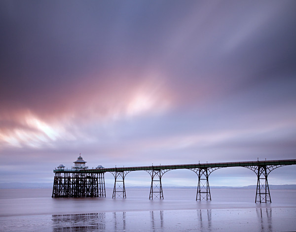 Clevedon Pier No 2 - Coastal Britain