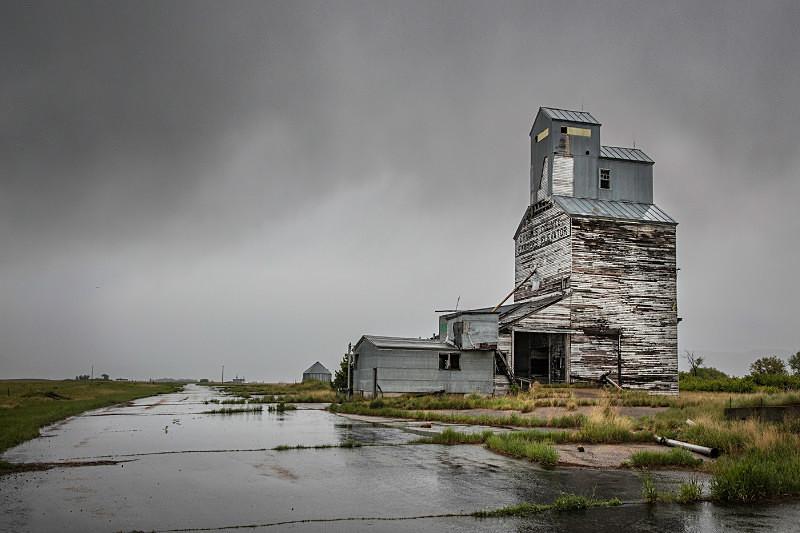 Madoc, Montana. - Abandoned America