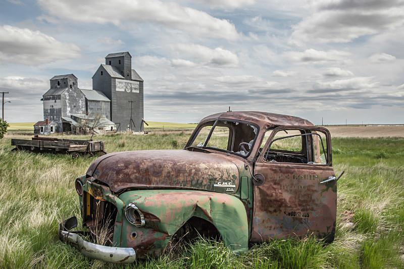 Dunkirk, Montana. - Abandoned America