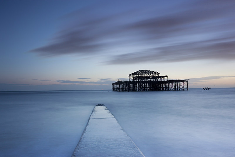 Coastal Landscape Brighton West Pier - Coastal Britain