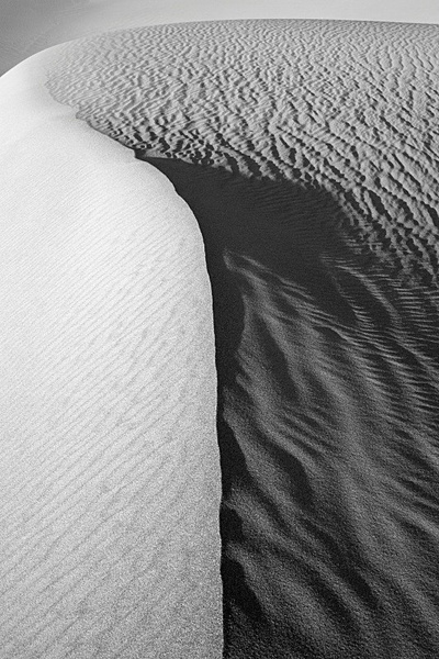 Death Valley, detail 1. - Monochrome Landscape America