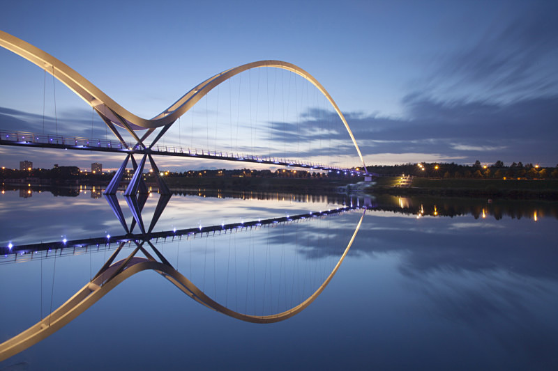 Infinity bridge Stockton - The Urban Environment