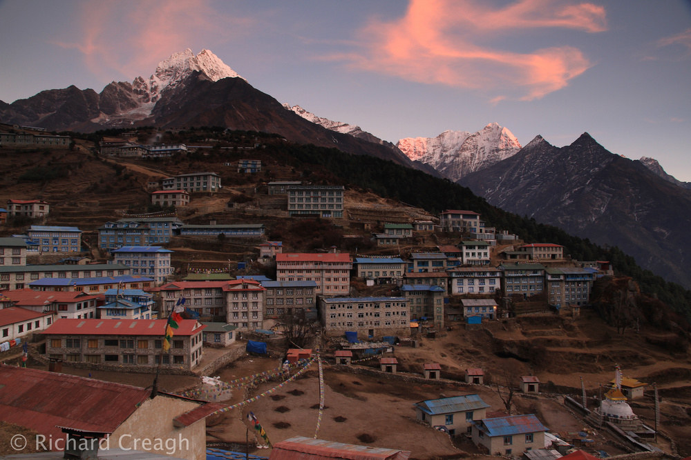Namche Bazaar - Around the World