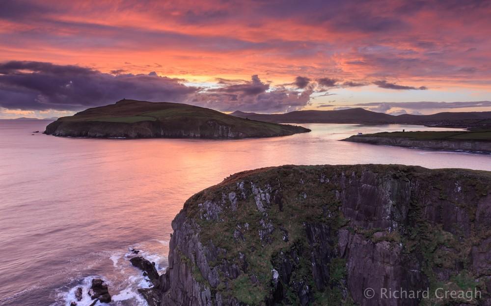 Binn Bán Sunset - Ireland