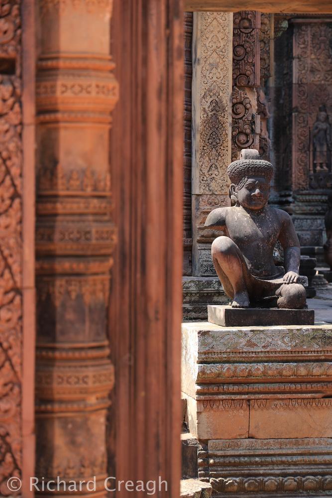 Banteay Srei Detail - Around the World