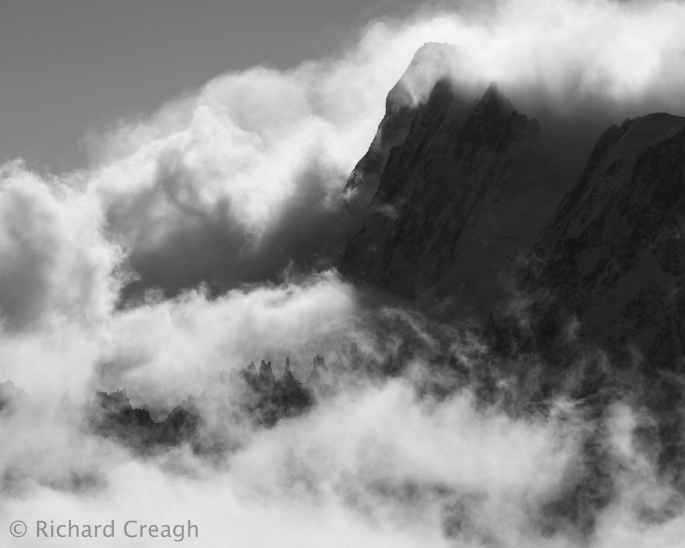 Grandes Jorasses - Around the World