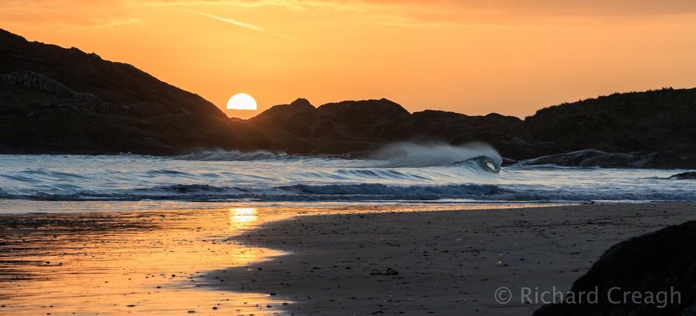 Hollow Sunset - Ireland