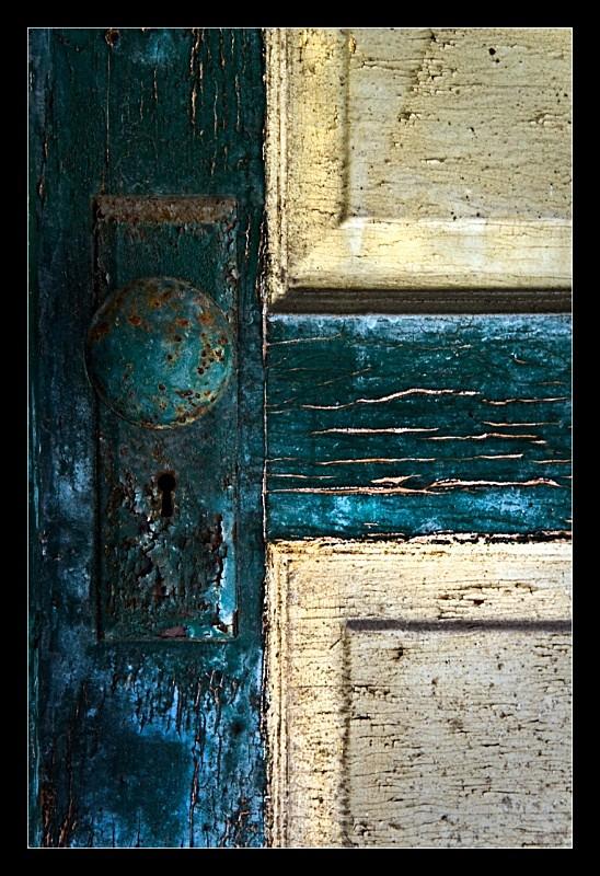 Green Doorknob - Building Elements