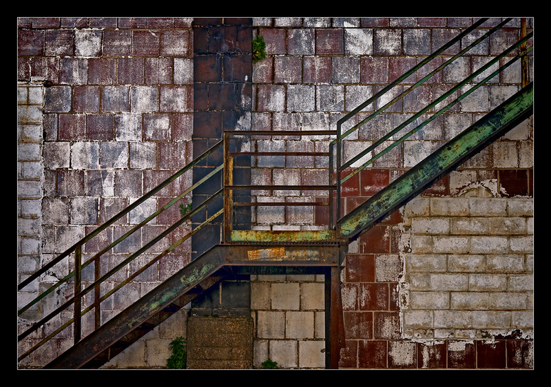 Diagonal Stairs - Building Elements