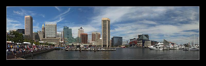Baltimore Inner Harbor - Landscapes