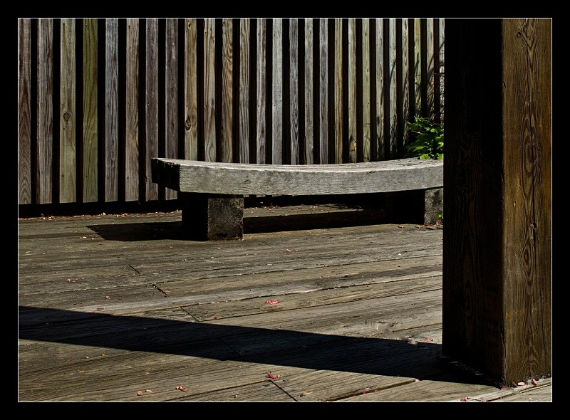 Curved Bench - Building Elements