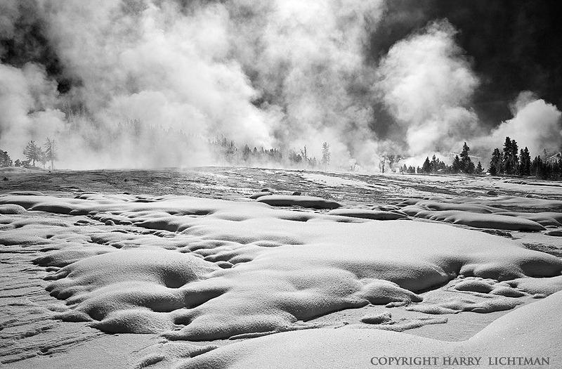 Fire & Ice - Black & White