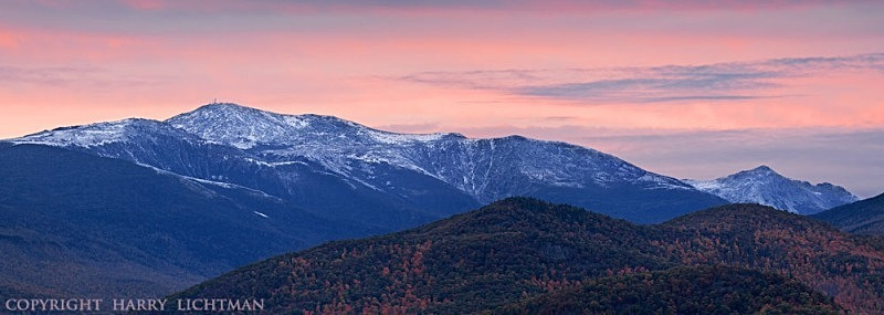 Presidentials in Pastel - New Hampshire Mountains - Streams - Lakes - & Rivers