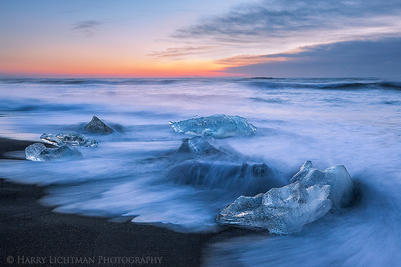 Tidal Flow - Iceland Winter