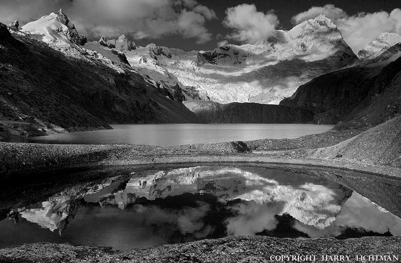 Land of Rock & Ice - Black & White