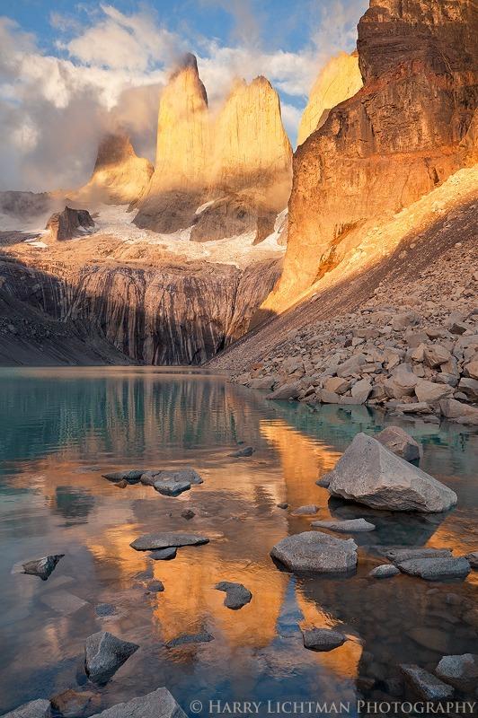 Los Torres - Daybreak - Torres del Paine National Park