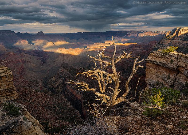 Hance Canyon Storm - Grand Canyon - South Rim