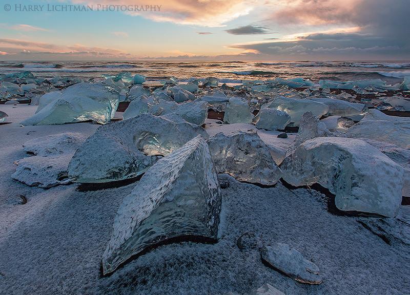 Diamond Litter - Iceland Winter