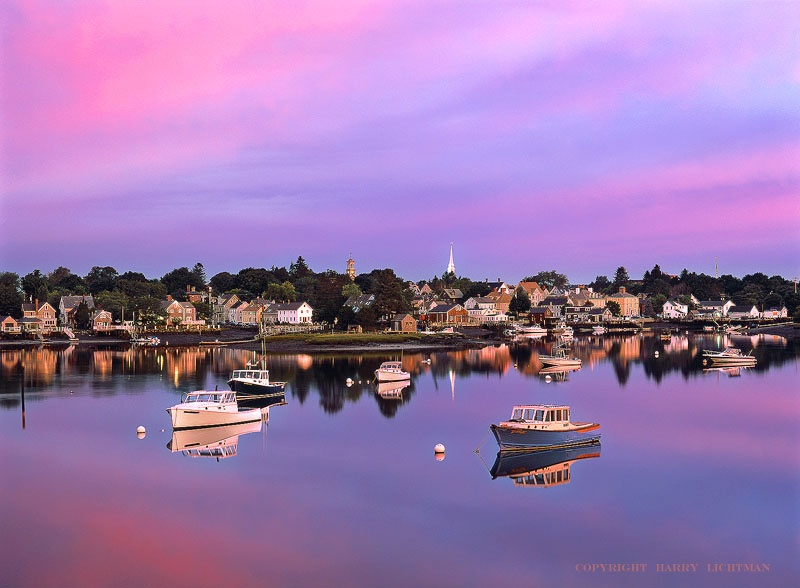 Stillness of Dawn - New Hampshire Seacoast