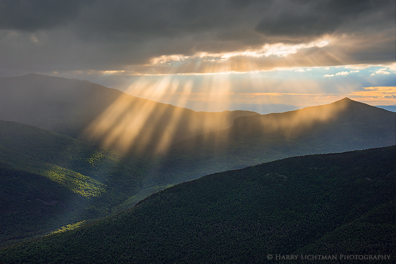 Eye of the Storm - New Hampshire Mountains - Streams - Lakes - & Rivers