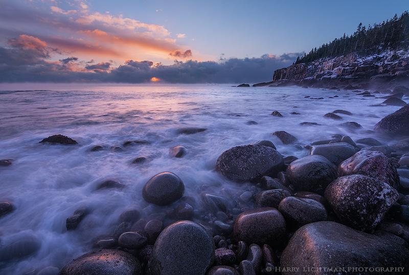 Breakthrough - Boulder Beach - Maine Coast & Mountains