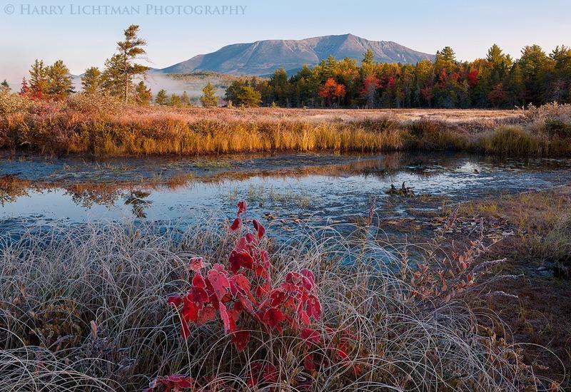 Katahdin Marsh - Maine Coast & Mountains
