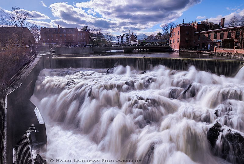 Spring Flow - Cocheco Mills Falls - New Hampshire Seacoast