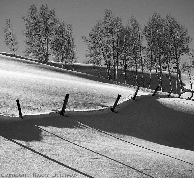 Ridge Lines - Telluride, CO - Black & White