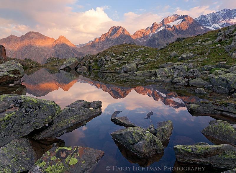 Stubai Alpenglow - Austria - The Wild Landscape