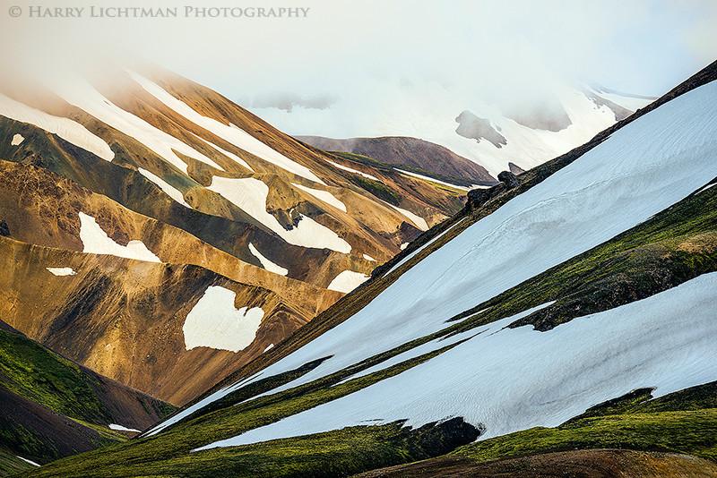 Slopes of Landmannalaugar - Terrestrial Iceland