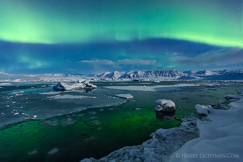Aurora Rainbow - Iceland Winter