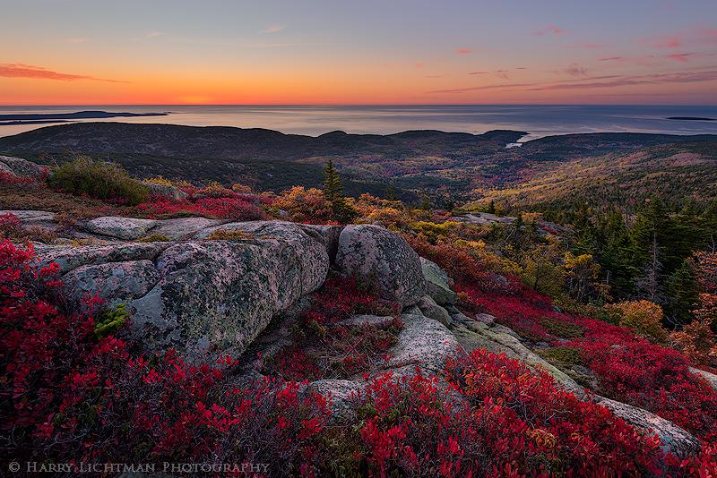Acadia Embers - Maine Coast & Mountains