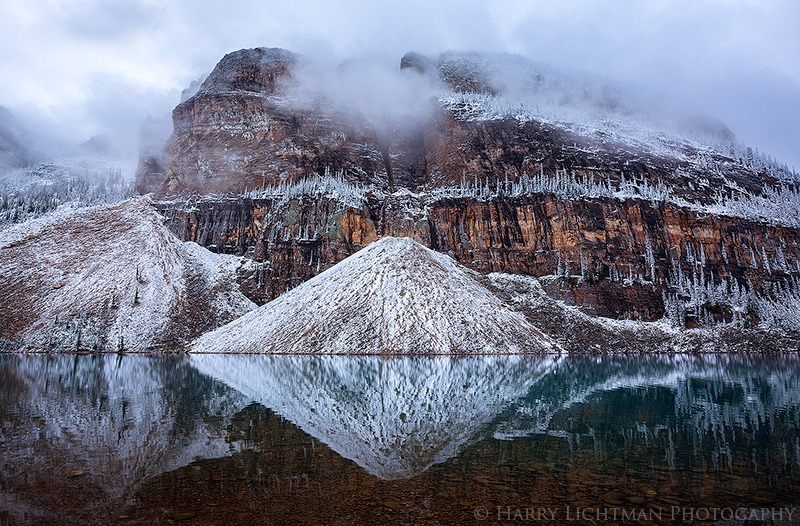 The Ramparts - Lake Louise - Autumn's Splendor 2014: Jasper, Yoho, Banff, Assiniboine, Lake Louise