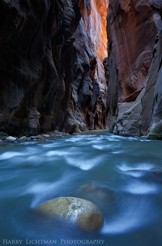 Inner Flame - Zion National Park