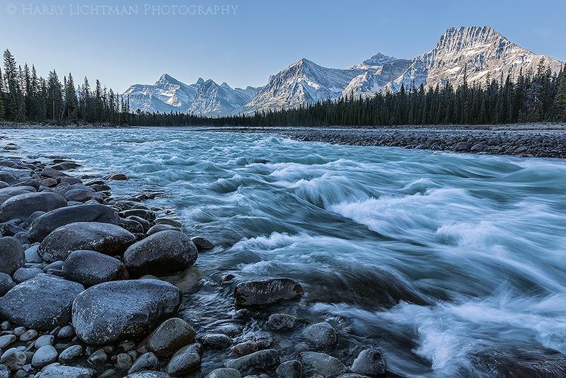 Athabasca Crossing - Autumn's Splendor 2014: Jasper, Yoho, Banff, Assiniboine, Lake Louise