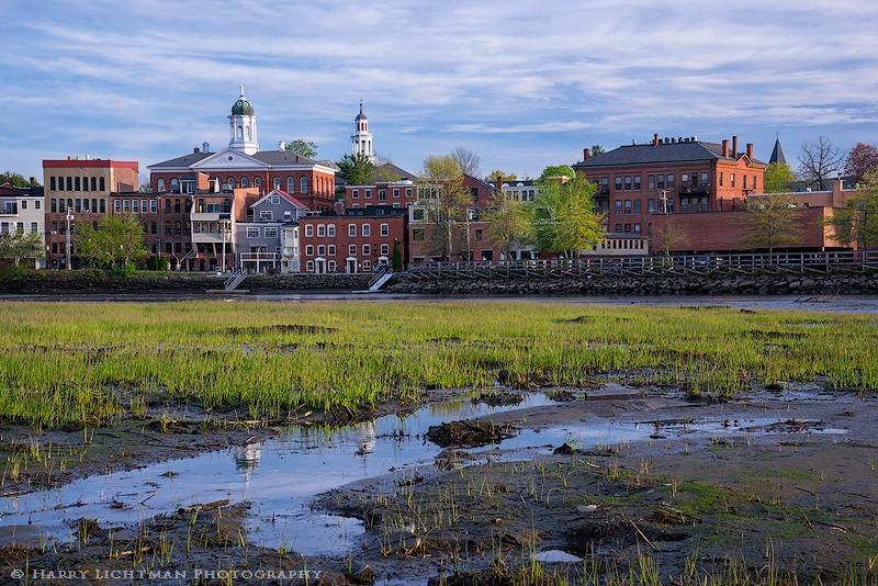 Exeter Mud Flats - New Hampshire Seacoast