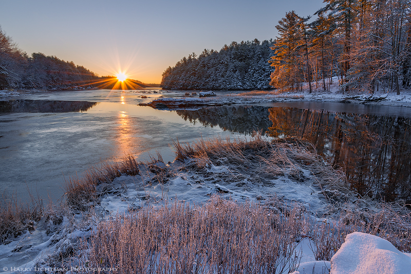 First Snow - Great Bay - New Hampshire Seacoast